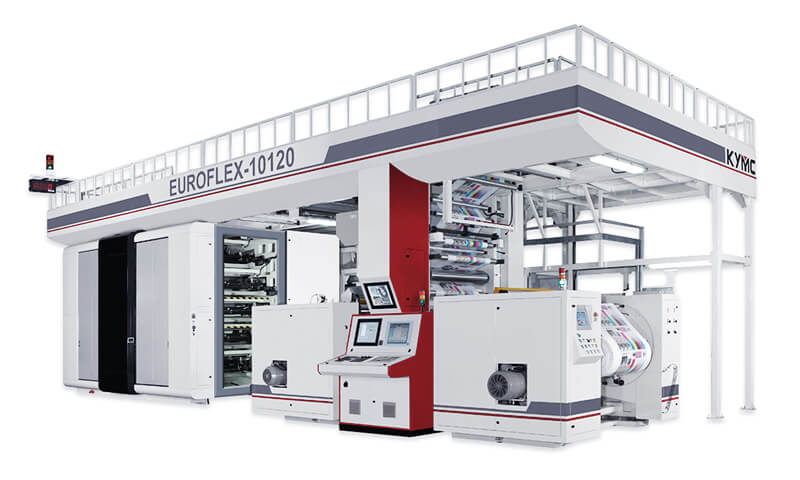Euroflex Flagship Gearless Printing Press