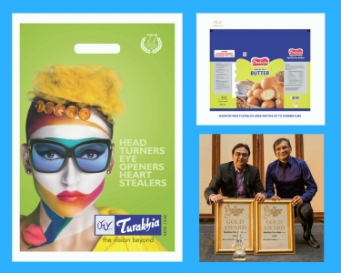 Multiflex Polybags Pvt.Ltd. received 2 gold/1 best at the 2017 Asian Packaging Excellence Awards