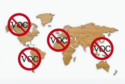 How printers from different parts of the world are treating VOCs emission?