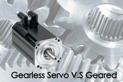 Flexographic Press - Gearless Servo V.S Geared