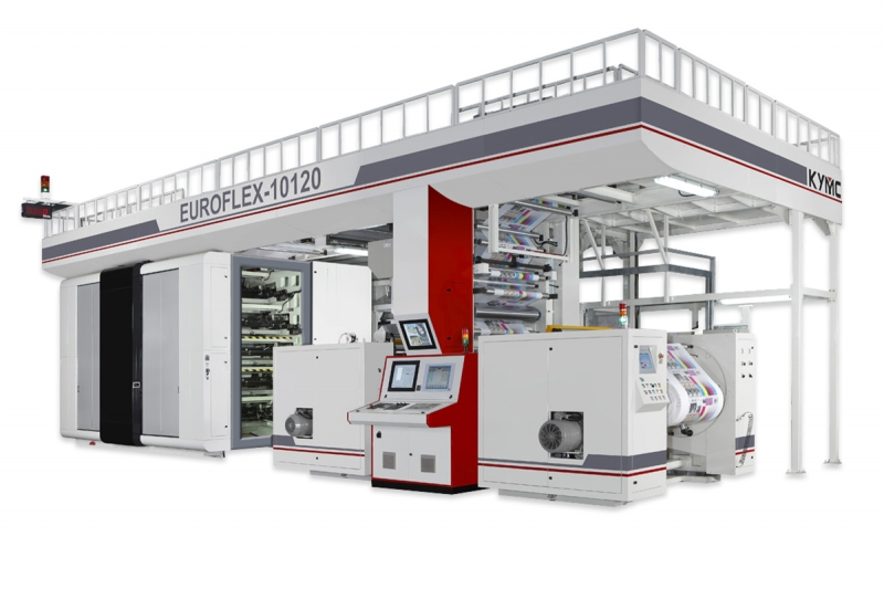 Euroflex Gearless Printing Press