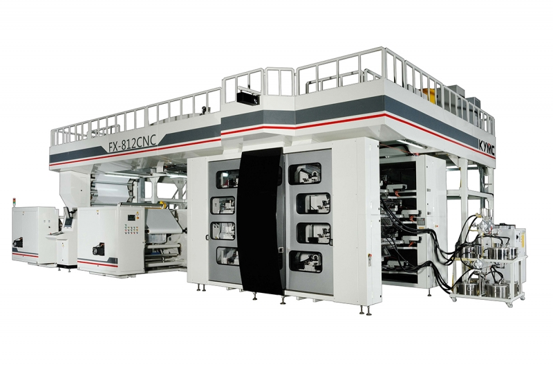 Flexojet Press Machine