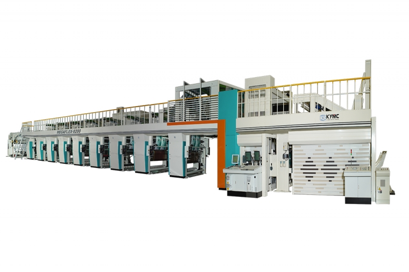 Megaflex Wide Web Flexo Printing Press