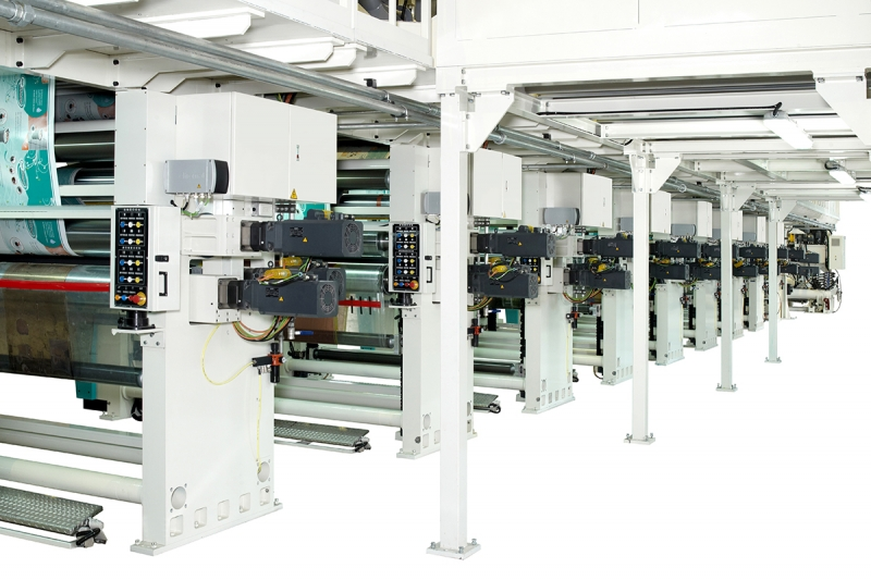 Megaflex Inline Flexo with Shaftless Drive
