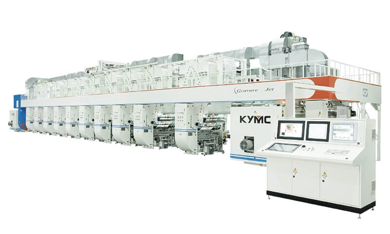 GT Servo Driven Rotogravure Printing Machine