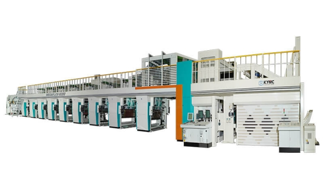 Megaflex Wide Web Flexo Press