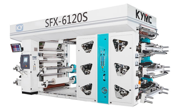 SFX Stack Flexo Printing Press